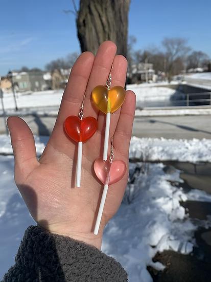 Sucker 4 U Earrings
