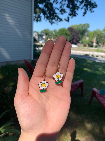 Life Is Good Floral Earrings