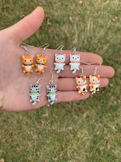 Kawaii Kitty Cat Dangles