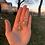 Thumbnail: Pearlescent Snowflake Earrings