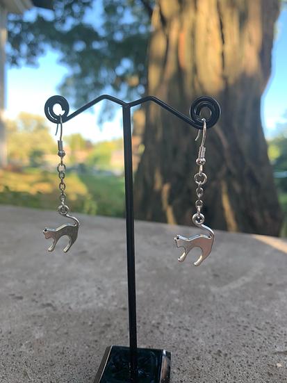 Spooky Kitty Earrings