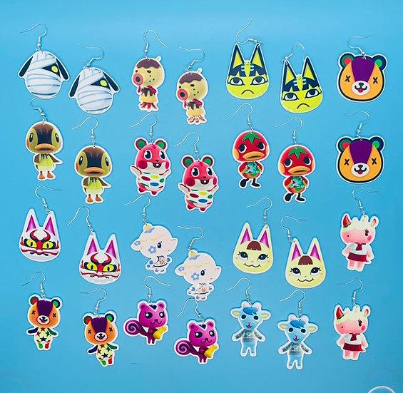 Animal Crossing Villager Earrings pt. 2