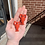 Thumbnail: Bright Red Lobster Earrings