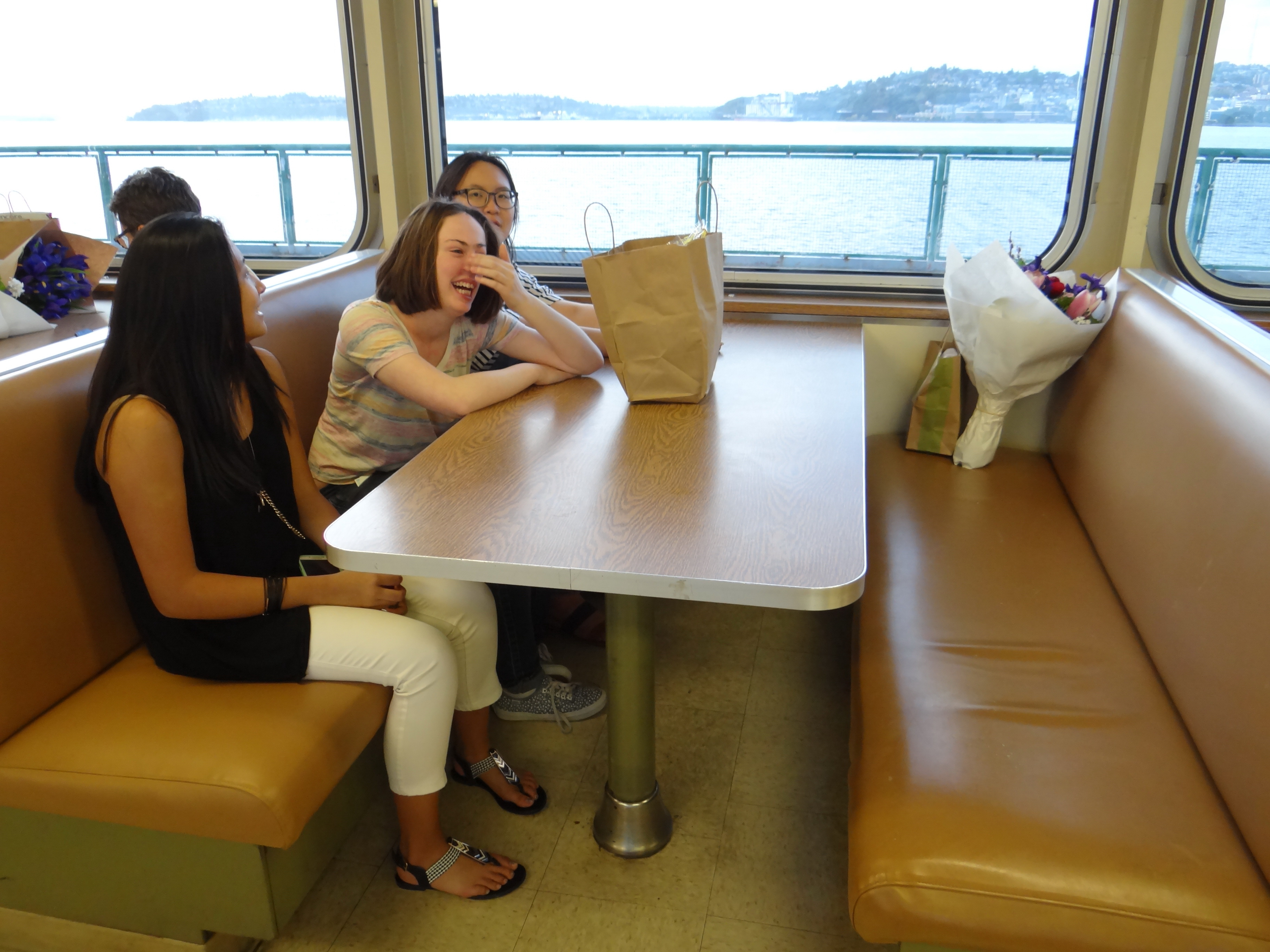 Friends on the Ferry