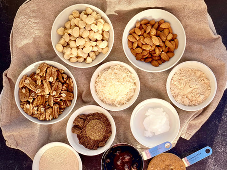Keep You Full Nut Bars | Melanie Smith
