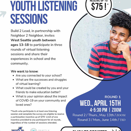 Build 2 Lead: Youth Voice Opportunity