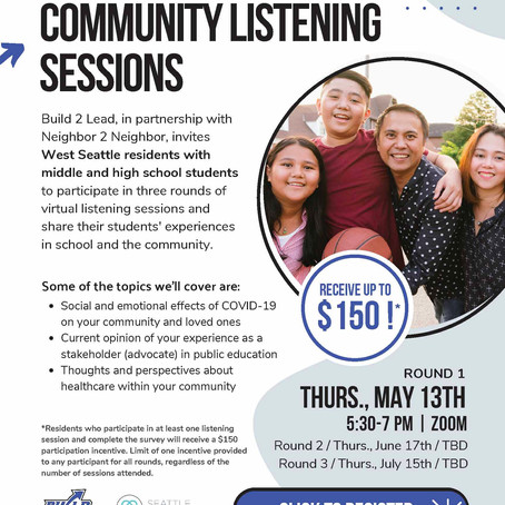 Build 2 Lead: Community Voice Opportunity