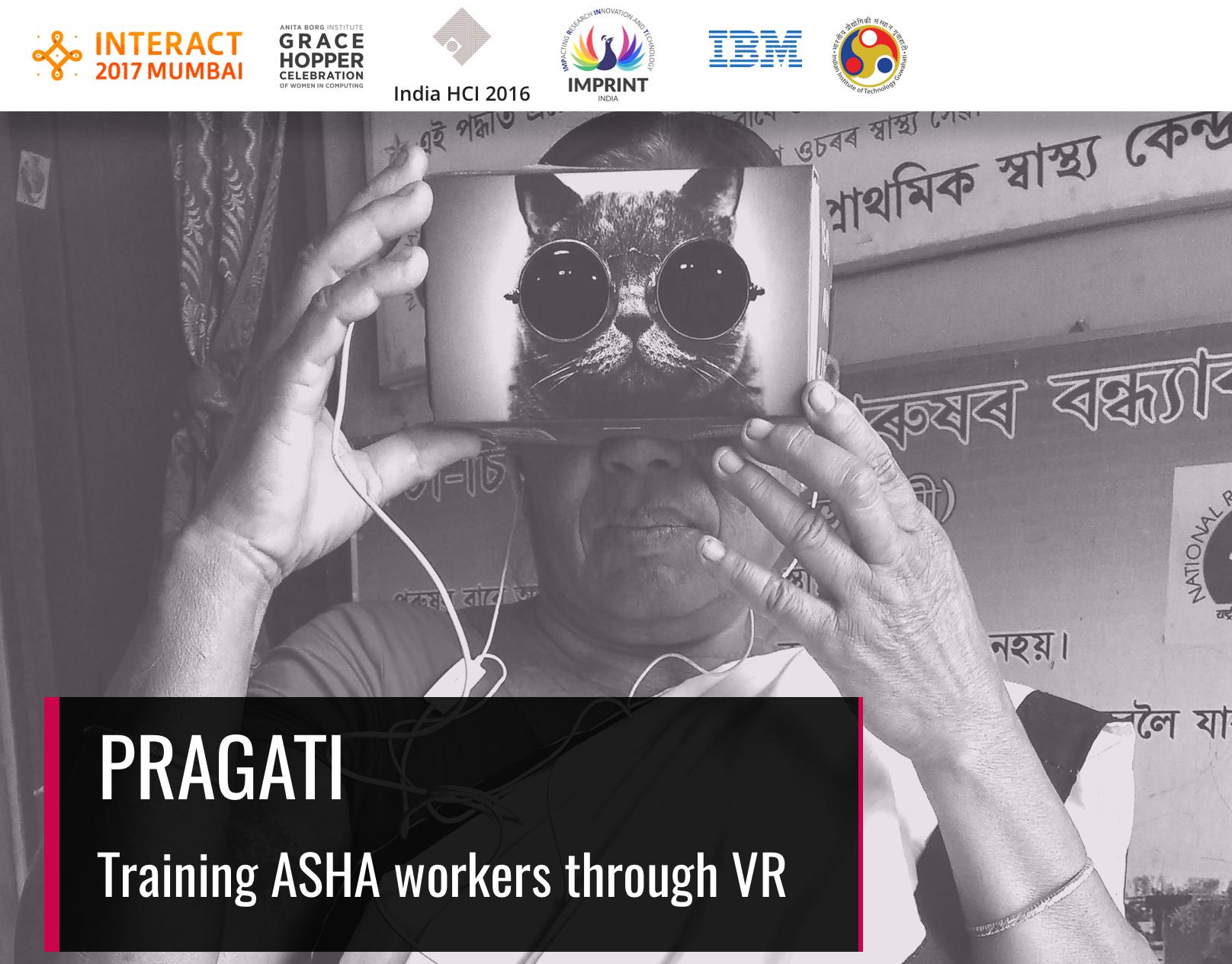 Pragati: VR for ASHA workers