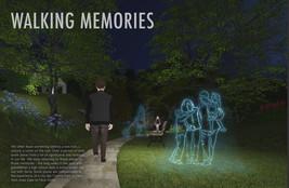 WALKING MEMORIES: Personalized Lighting in Public Spaces