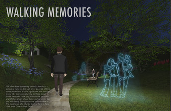 WALKING MEMORIES: Personalized Lighting in Public Spaces