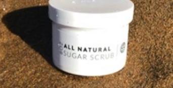 All Natural Sugar Scrub