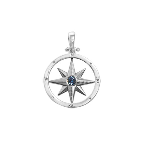 SMALL ROUND COMPASS ROSE/2.5MM