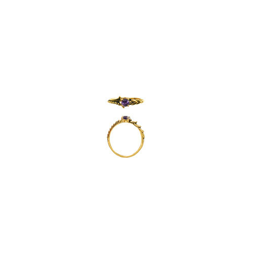 4 MM STONE RING (S56)