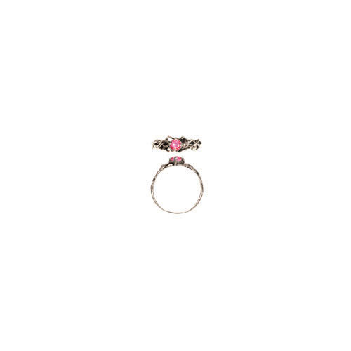 4 MM STONE RING (S40)