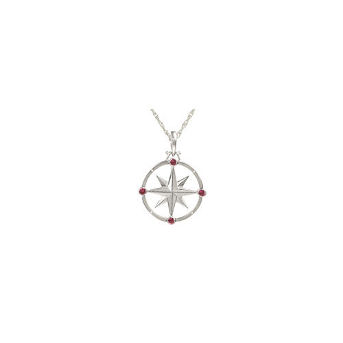 LARGE ROUND COMPASS ROSE 2.5MM