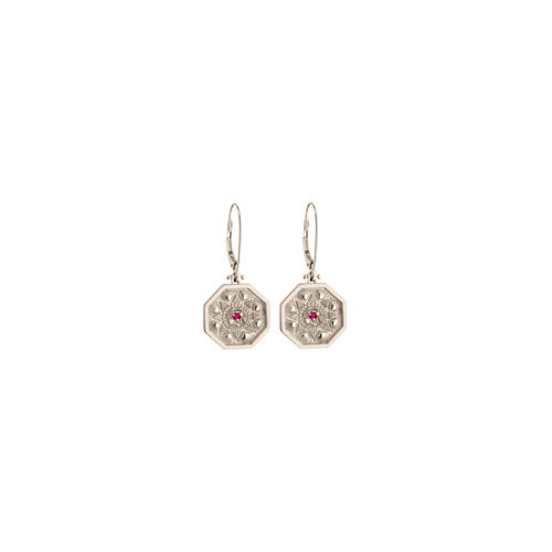SMALL VALENTINE LEVERBACK EARRINGS 4PTS