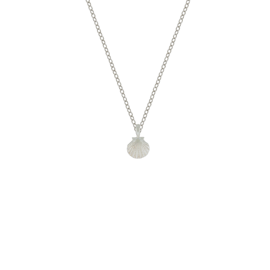 PETITE CHARM SHELL NECKLACE