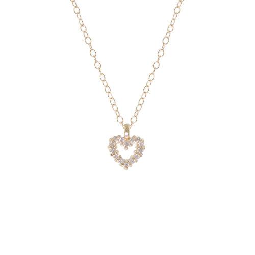 PETITE PAVÉ HEART 7PTS DIAMONDS
