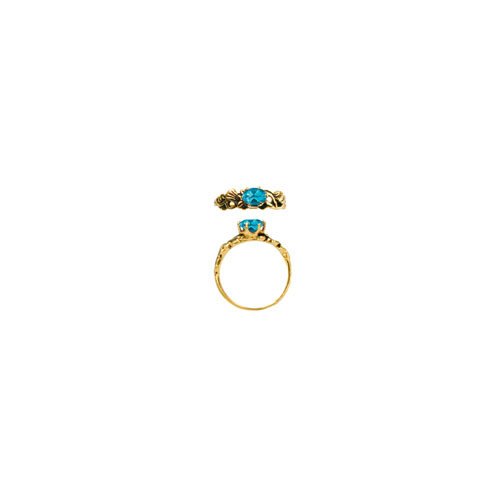 6X4 OVAL STONE RING (S412)