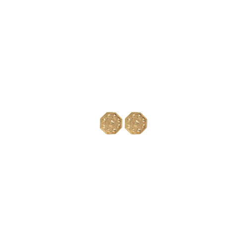 TINY SCALLOP EARRINGS