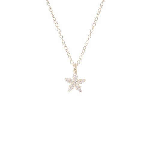 PETITE PAVÉ STARFISH 6PTS DIAMONDS