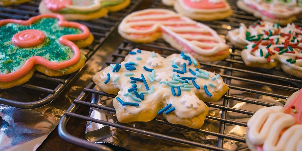 Partners, Spouses, & WAGs Virtual Winter Cookie Bake