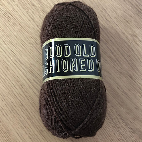 Good Old Fashioned DK, Brown