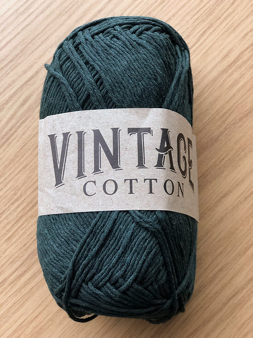 Vintage Cotton, Forest Green