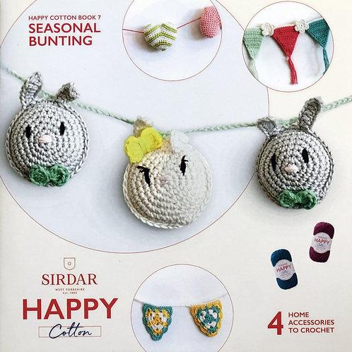 Sirdar Happy Cotton Book 7 - Seasonal Bunting