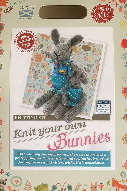 The Crafty Kit Company - Knit Your Own Bunnies