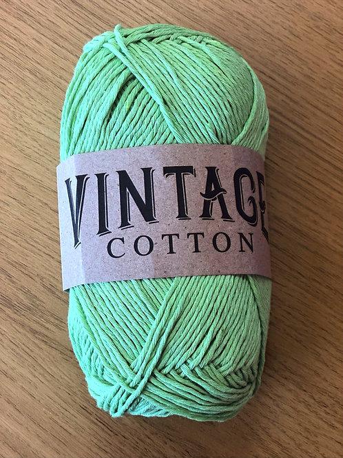 Vintage Cotton, Apple Green