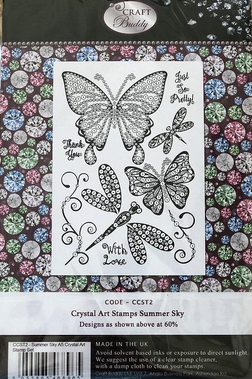Crystal Art Stamps - Summer Sky
