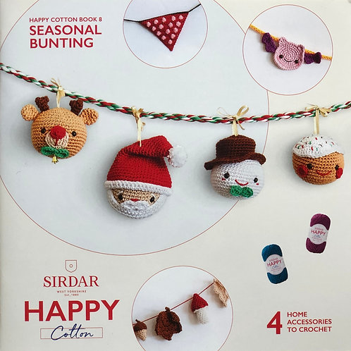 Sirdar Happy Cotton Book 8 - Seasonal Bunting
