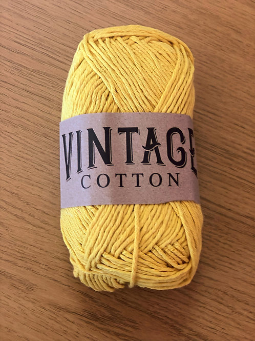 Vintage Cotton, Dark Yellow