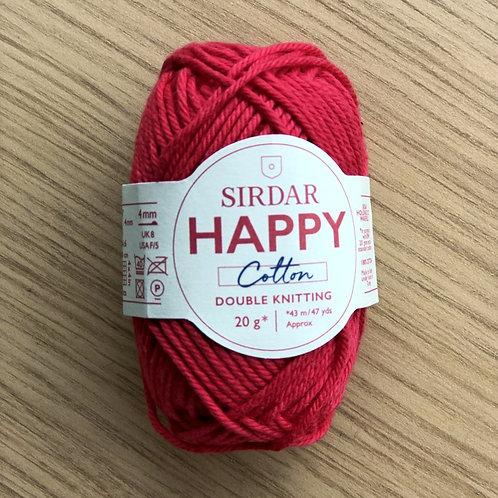 Sirdar Happy Cotton, Cherryade (754)