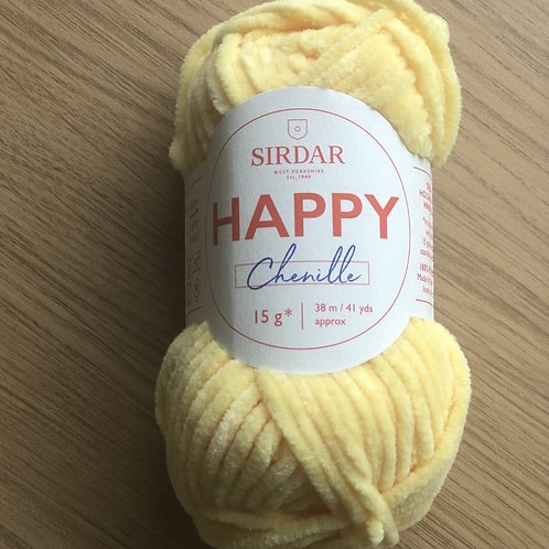 Sirdar Happy Chenille, Duckling (14)