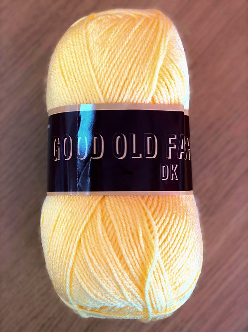 Good Old Fashioned DK, Yellow