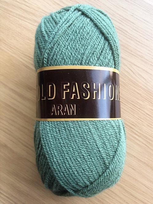 Good Old Fashioned Aran, Moss Green