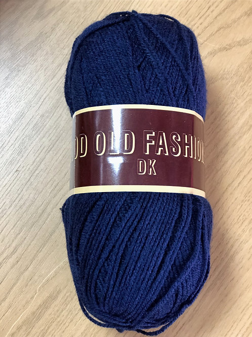 Good Old Fashioned DK, Navy Blue