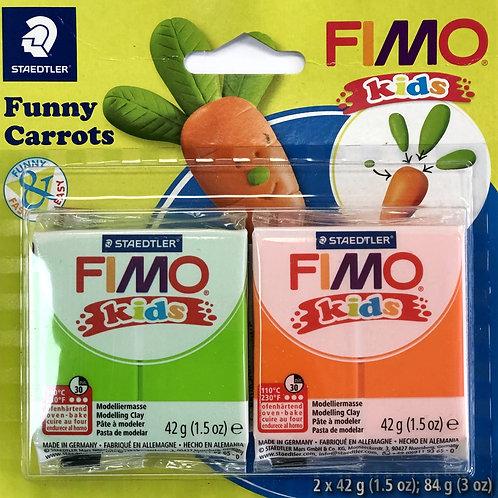Fimo Kids - Funny Carrots