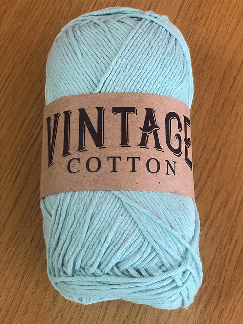 Vintage Cotton, Mint Green