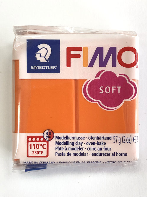 Fimo Soft Modelling Clay - 8020-42 Tangerine, 57g