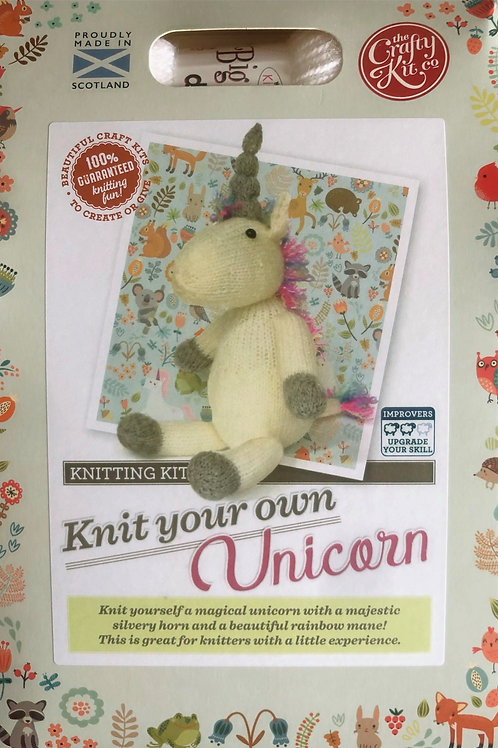 The Crafty Kit Company - Knit Your Own Unicorn