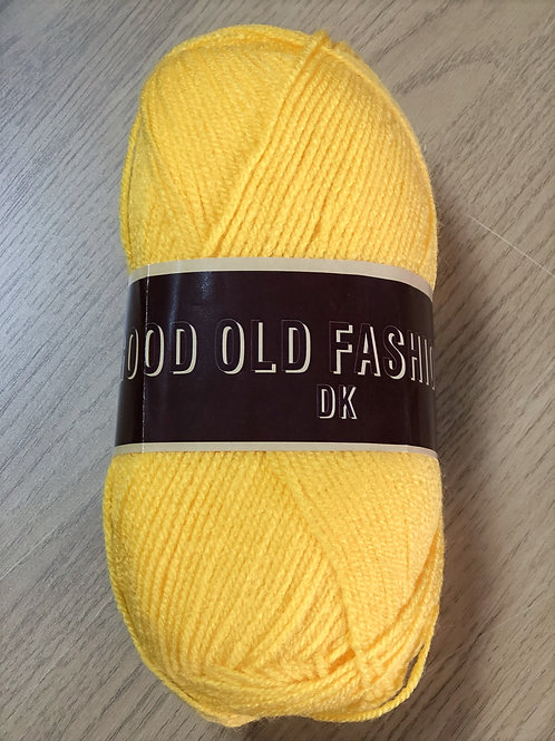 Good Old Fashioned DK, Golden Yellow