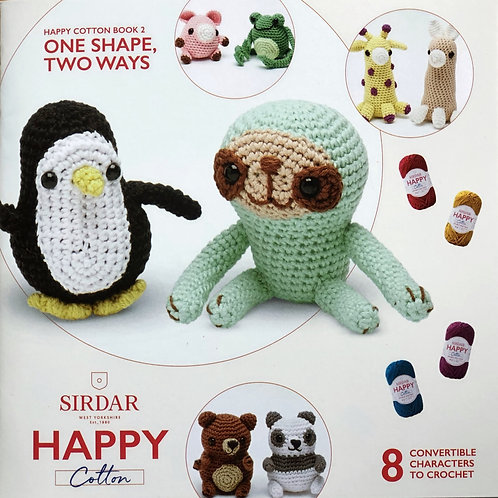 Sirdar Happy Cotton Book 2