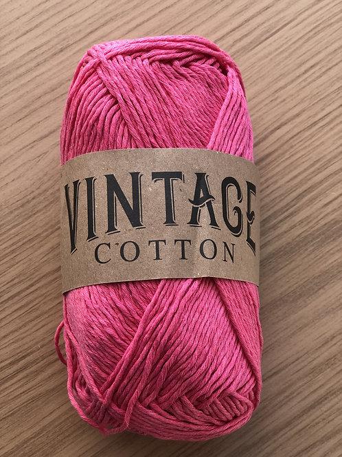 Vintage Cotton, Dark Rose Pink