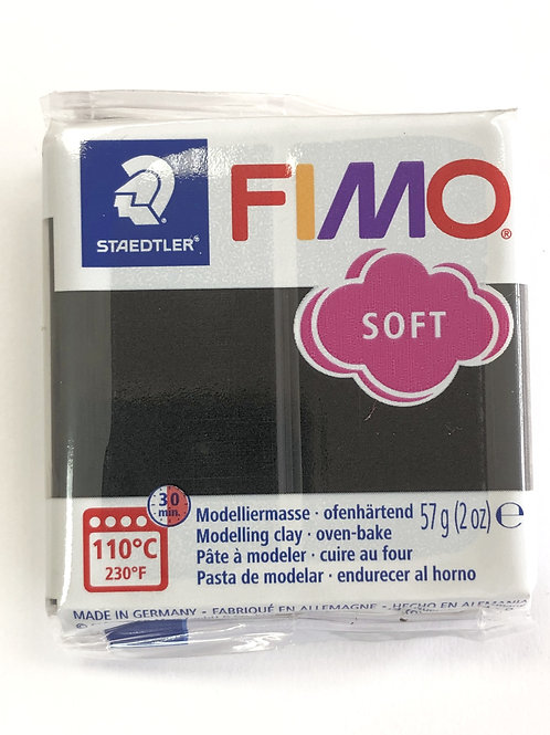 Fimo Soft Modelling Clay - 8020-09 Black, 57g