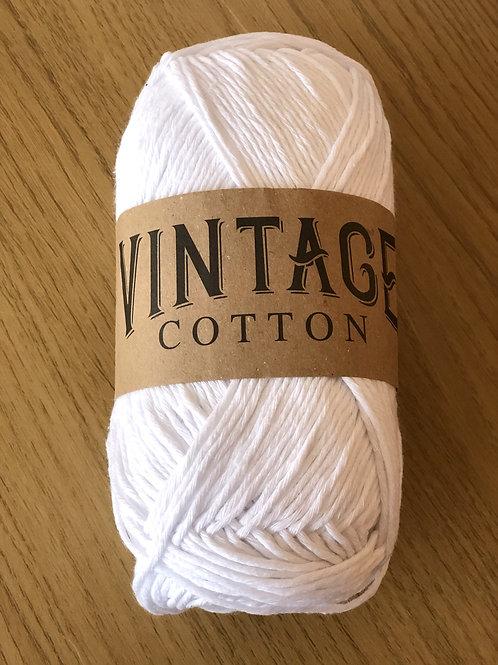 Vintage Cotton, White