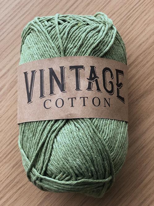 Vintage Cotton, Olive Green