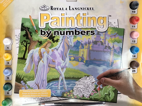 Painting by Numbers - Fairy Castle